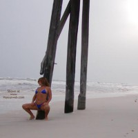 *Bk Soo Hot At The Beach-N-Blue Thong 2