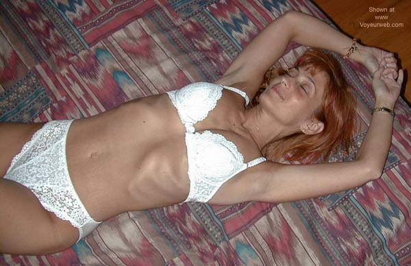 Pic #1 Redhead on The Bed 2