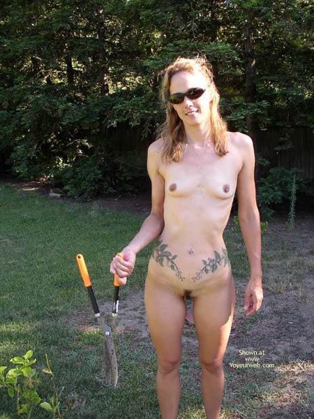 Pic #1 Gardening With Tittie Larue