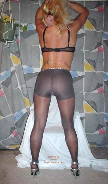 Pic #1 Black Pantyhose