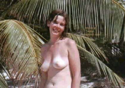 Pic #1 Jill Topless at Beach Hotel