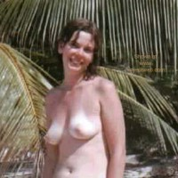 Jill Topless at Beach Hotel