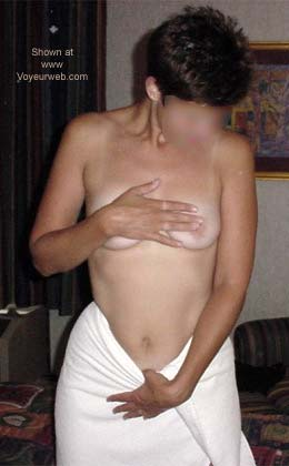 Pic #1 White Towel Fun