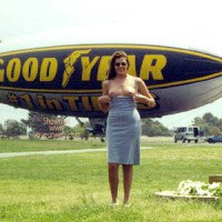 Hollywood Flasher at The Goodyear Blimp 1