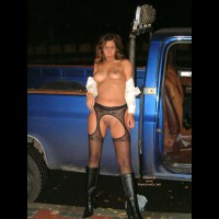 Alice  In The Road With Truck