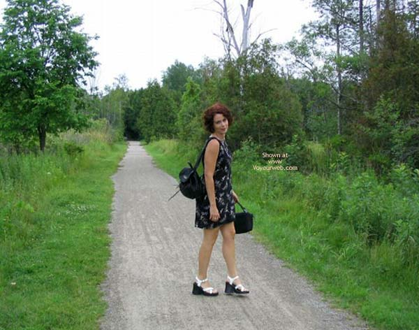 Pic #1 Suzanne In The Woods 2