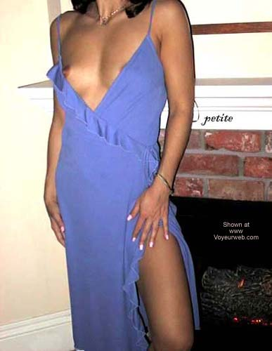Pic #1 Petite Blue Dress