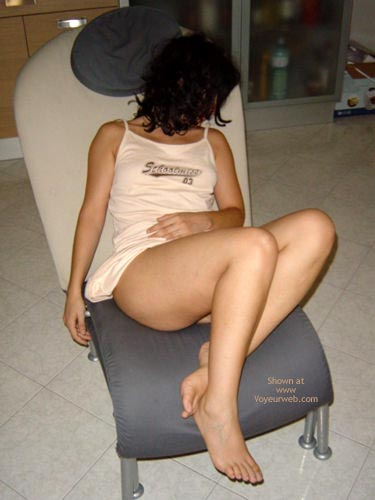 Pic #1 Sexyclaire On The Chair