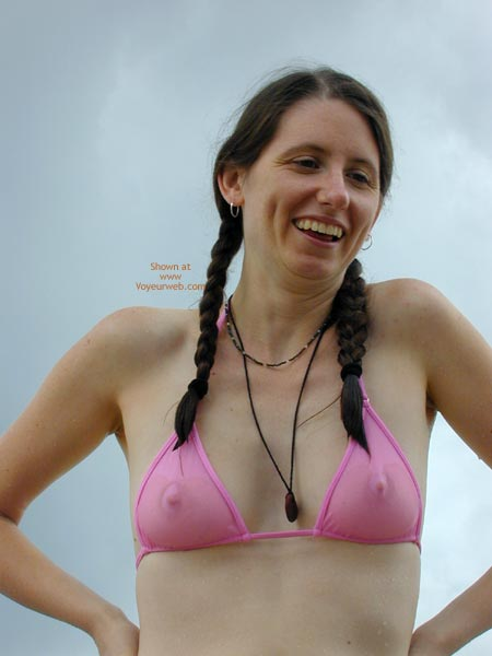 Pic #1 Wicked Weasel On The Beach First Time Contri