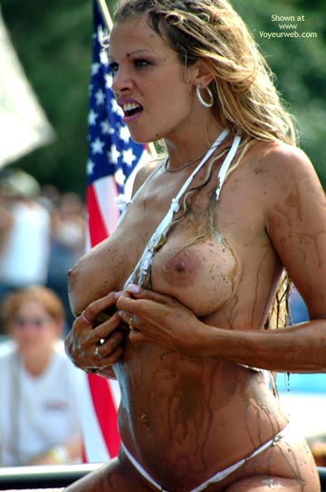 Messy - Erect Nipples, Topless , Messy, Topless, Erected Nipples, Microkini, Wicked Weasel