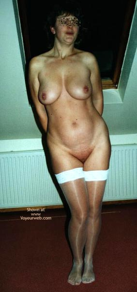 Pic #1 Angela In White Stockings