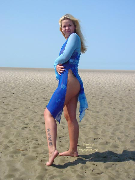 Pic #1 German Svenja Is Back At The North Sea 1