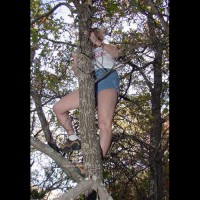 Katie Klimbing and Kasting Her Klothing