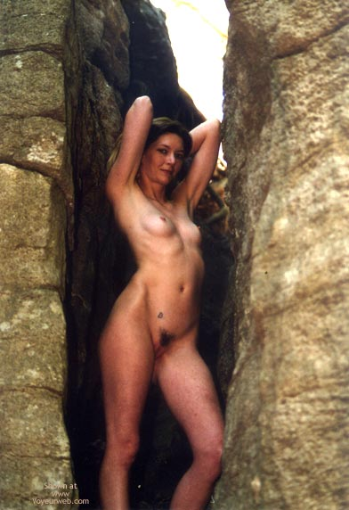 Nude In Nature - Brunette Hair, Nude In Nature , Nude In Nature, Shapely Brunette, Stylized Shaving