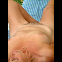 Untrimmed Pussy - Medium Breasts, Necklace, Nude Outdoors , Untrimmed Pussy, Nude Outdoors, Medium Breasts, Reclining, Necklace