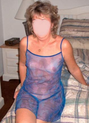 Pic #1 Wife in Blue
