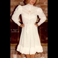 White Dress Strip