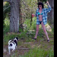 Kiwi Wife Having Fun