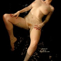 Firebush Nude - Nude Amateur , Firebush Nude, Flotation Devices, Naked In Tub, Red Pubic Hair