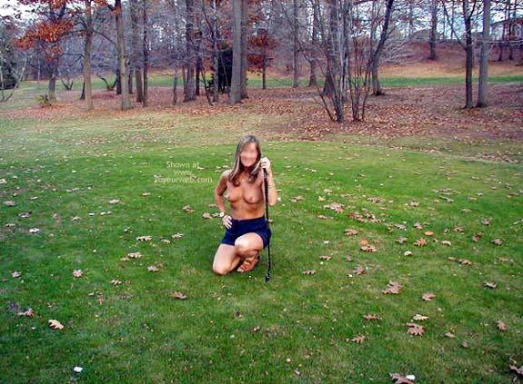 Pic #1 Sam Hubby Teaching Me to Golf