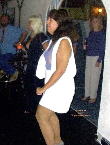Pic #1*Tr  Sheer Top At The Bar