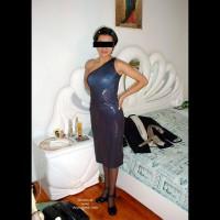 Monica in Black Lingerie