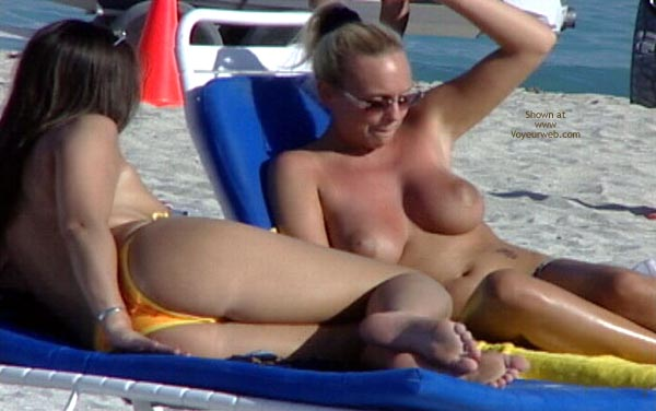 Pic #1 Topless Beach Party