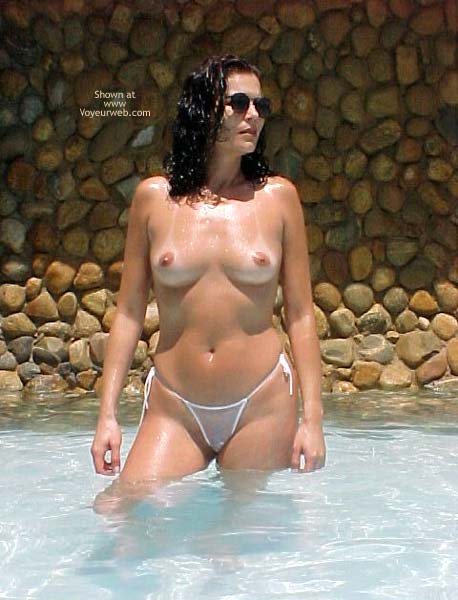 Pic #1 Brazilian Girlfriend at The Pool