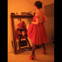 *SN Lulu's Red Dress