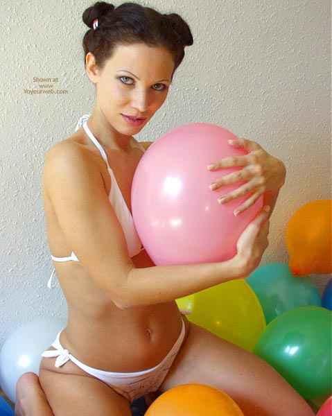 Pic #1 Angelina With Balloons