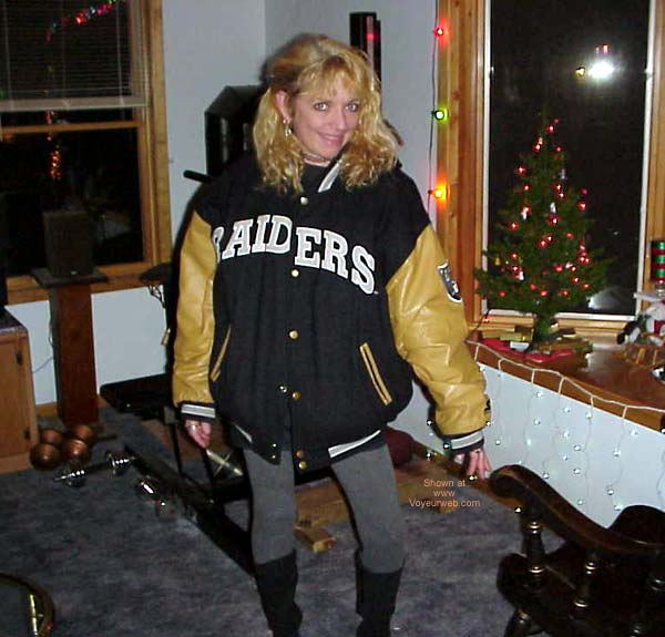 Pic #1 She's a Raiders Fan in Sleepy Girl 6