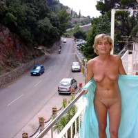 Mature Wet Fun At Mallorca