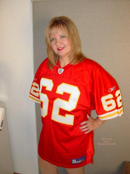 Pic #1 Connie Is Ready For Some Football !