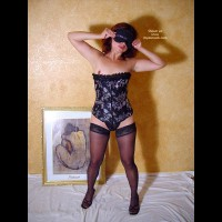 Latin Couple Black Corset