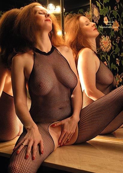 Milf Body Suit - Touching Herself , Milf Body Suit, Body Fishnet Self Pleasure, Milf Touching Herself