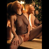 Milf Body Suit - Touching Herself , Milf Body Suit, Body Fishnet Self Pleasure, Milf Touching Herself