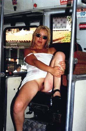 Pic #1 Miriam in a Bus of Cutcsa