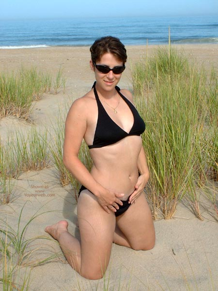 Pic #1 Mel At The Beach 1