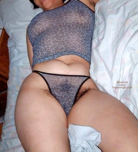 Pic #1 My See Through Blue Panties - See Through Panties