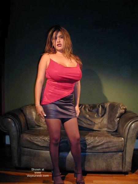 Pic #1 Alana's 38F Latina Titties!!