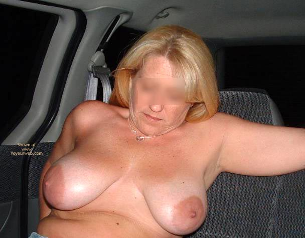Pic #1 Backseat With Mrs. Boobman