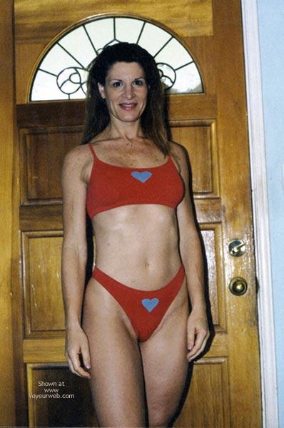 Pic #1 Red Bikini
