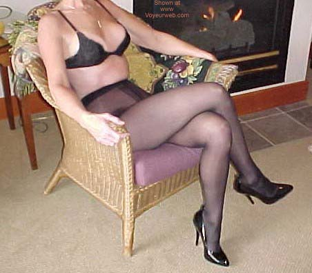 Pic #1 *SN My Wife Connie in Nylons 2