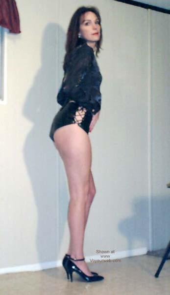 Pic #1 Celeste in Leather 3