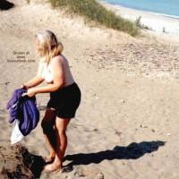 Lila On The Beach