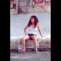 Angela sull'Isola Tiberina