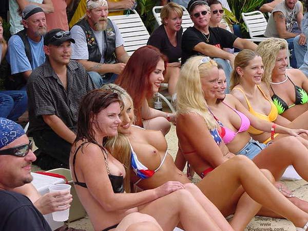 Pic #1 Biker Rally Bikini Contest