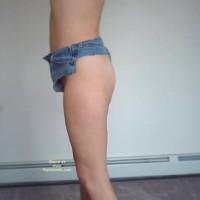 Bunny'S Thong Cutoff Shorts