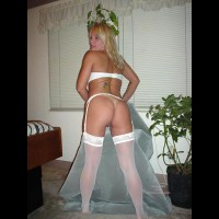 Garter And White Stockings