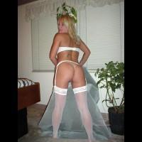 Garter And White Stockings